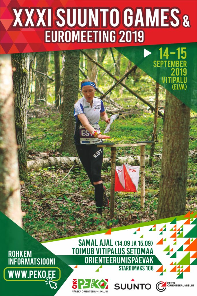 Setomaa orienteerumispäevak kavas Eesti suurimal orienteerumisvõistlusel Suunto Games